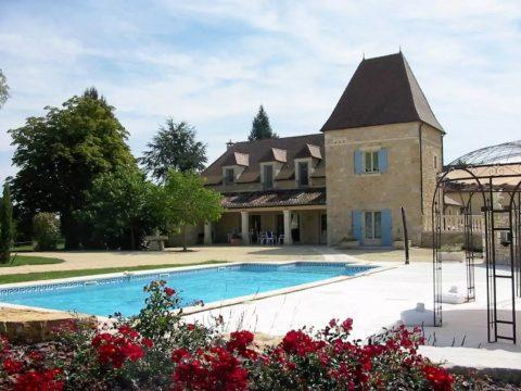 Périgord Blanc – Huizen met privé zwembad